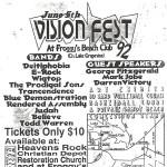 VisionFest 1992 Flier