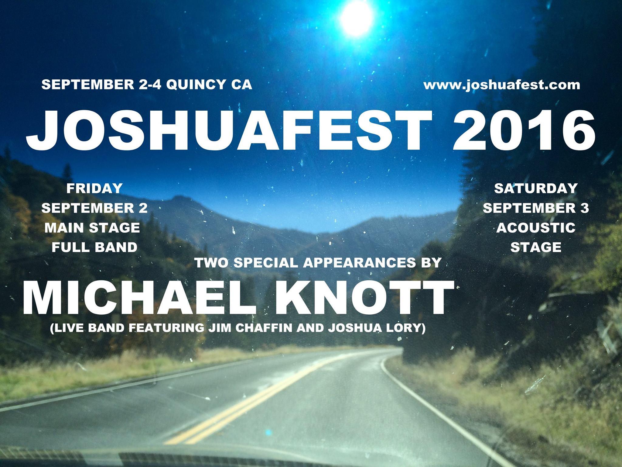 Knott live Joshua Fest