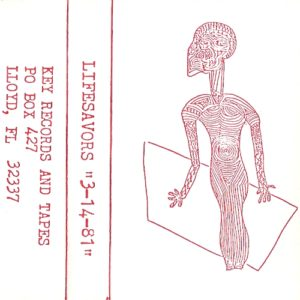 The Lifesavors - 3-14-81 (live) (tape cover)