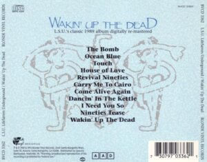 Lifesavers Underground - Wakin' Up the Dead (1992 CD tray)