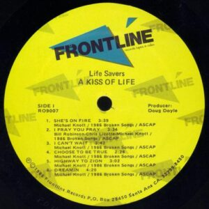 Lifesavers - Kiss of Life (vinyl side 1)