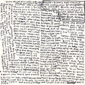 Michael Knott - Screaming Brittle Siren cover 5