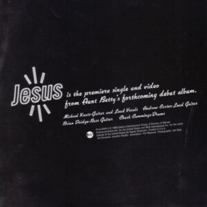Aunt Bettys - Jesus (single) - Cover 2