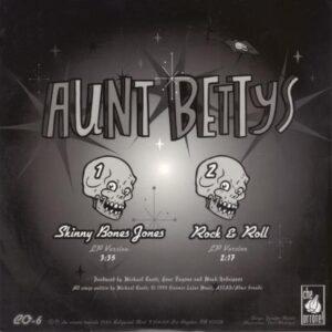 Aunt Bettys - Skinny Bones Jones (vinyl single) - Cover 2