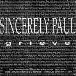 Ad for Sincerely Paul from Music Connection Magazine