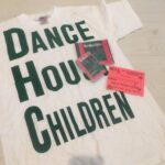 Blonde Vinyl T-Shirt and Card - Dance House Children
