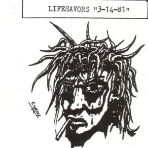 The Lifesavors - 3-14-81 (live) (re-issue cover)