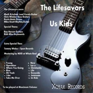 The Lifesavors - Us Kids vinyl side 2 digital re-issue cover