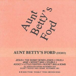Aunt Betty's Ford - Demo #1 cover