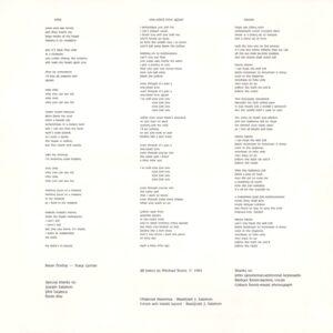Idle Lovell - Surge et Illuminare insert 2