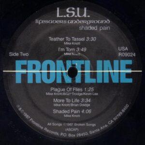 Lifesavors Underground - Shaded Pain (vinyl side 2)