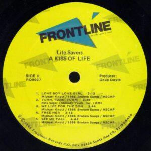 Lifesavers - Kiss of Life (vinyl side 2)