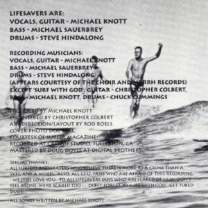 Lifesavers - Poplife (CD cover 2)