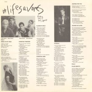 The Lifesavors - Dream Life (insert side 1)