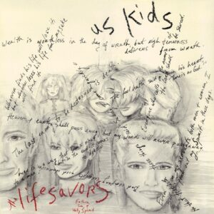 The Lifesavors - Us Kids cover (front)