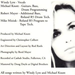 Windy Lyre - Windy Lyre (CD cover 2)