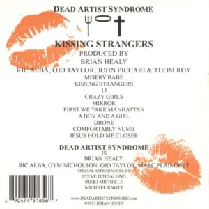 Dead Artist Syndrome - Kissing Strangers cover 2