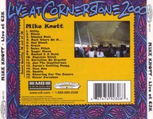 Mike Knott - Live at Cornerstone 2000 Vol. VI - tray