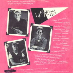 The Lifters - The Lifters back cover