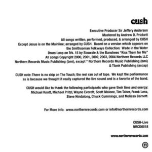 Cush - Live and Rare - cover 2