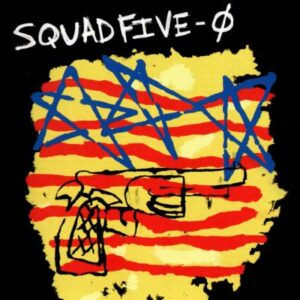 Squad Five-0 - Late Breaking News - cover 1
