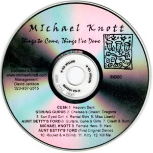 Michael Knott - Things to Come, Things I've Done - disc