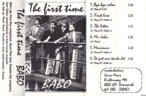 Babo - The First Time cover