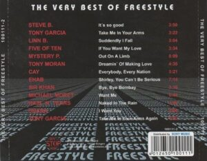 The Very Best of Freestyle - tray